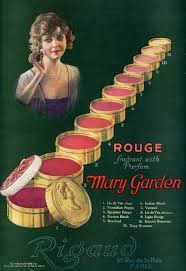 mary garden rouge 1920