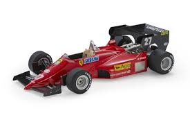 Ferrari 126 C4 #27 Michele Alboreto - Modellauto