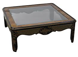 Burl Coffee Tables Drexel Heritage Square Burl Wood Coffee Table Chairish