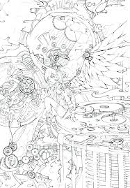 Angel Coloring Pages Online Angel Coloring Pages Online Free