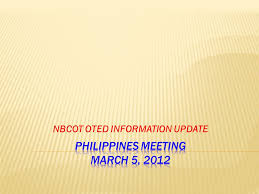 Nbcot Oted Information Update Countries Offering Masters Degrees