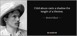 Child Abuse Quotes Gorgeous QUOTES BY HERBERT WARD AZ Quotes