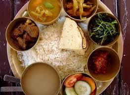 Nepal National Food Dhal Bat Nepali Food Nepal Food