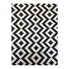 bw geometric ikea canvas rug