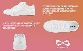 Nfinity Evolution Size Chart Nfinity Adult Evolution Cheer Shoes