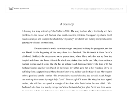 a journey is a story written by colm tibn in the story is  document image preview
