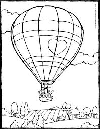 Luchtballon Kiddicolour