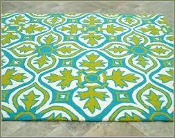 lime green rug 5x7