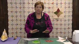 Periwinkle Quilt Update - Get the Perfect Point - YouTube &  Adamdwight.com