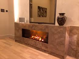 luxury electric fireplace insert with ceramics frame and wooden wall for warm room ideas