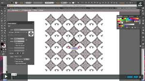 How To Make Pattern In Illustrator Awesome Create Custom Vintage Patterns With Adobe Illustrator Creative Beacon
