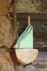 Купить Салфетница из дерева <b>Кораблик</b> - дерево, <b>декоративные</b> ...