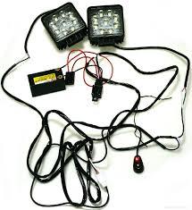 12v Led Light Bar Wiring Harness