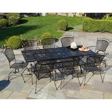 wrought iron patio dining set family
