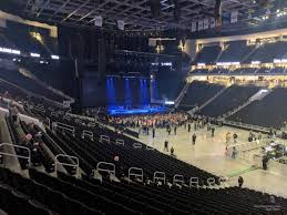 Fiserv Seating Chart Fiserv Forum Section 104 Concert Seating Rateyourseats Com