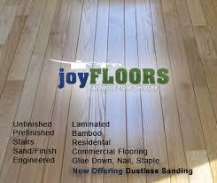 wele to joy floors hardwood floor services