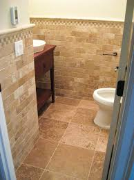 How To Tile A Bathroom Floor Video Interesting Wainscoting Over Bathroom Tile Video Pics Ideas Amys