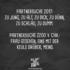 Visual Statements Partnersuche 2017 Zu Jung Zu Alt Zu Dick Zu