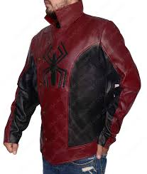 spiderman the last stand logo jacket