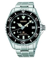 17 best images about grand seiko models stainless grand seiko spring drive gmt watch 30 jewels and high intensity titanium