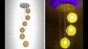 homemade lighting. How To Make A Homemade Wrapped Balloon Lamp | DIY Easy Lighting
