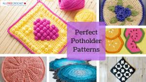Free Crochet Potholder Patterns Fascinating 48 Perfect Crochet Potholders AllFreeCrochet