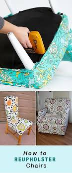how to reupholster chairs from old dining chair seats all the way up to the big club chair in your family room use these tutorials to learn how to