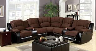 furniture of america cm6557 3 pc wolcott 2 tone brown elephant skin microfiber leather like vinyl
