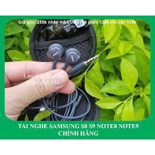Nhập mã LUUG136 chỉ còn 99k FREESHIP] Tai Nghe AKG S8 | Note 8 | Note 9  chính hãng + Hộp Đựng Chất + Cây chọc Sim - Tai nghe có dây nhét tai