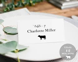 Place Card Holder Template Pin On Wedding Ideas