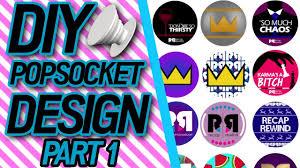Design Popsocket Cheap Diy Design Your Own Riverdale Popsocket Part 1