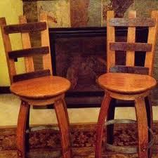 wine barrel bar plans. Wine Barrel Furniture. Bar Stools $240.00 Plans