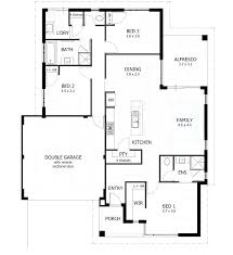 3 bedroom floor plans with garage pict bedroom small house plans cottage bath modern 3 with