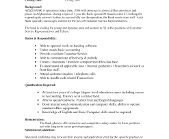 Sample Resume For Bank Jobs With No Experience Resume Banker Cover Letter Template No Experience Objective For 91