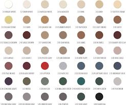 C Cure Grout Color Chart 60 Proper Polyblend Tile Grout Color Chart