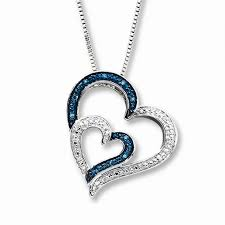 luxurious two hearts necklace kay jewelers beautiful kay jewelers open heart jewelry