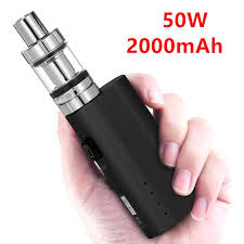 <b>HT 50 Electronic Cigarette</b> Box Kit 2200mAh <b>HT50W</b> 2ML Mini Tank ...