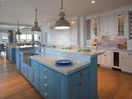 White Coastal Kitchen Pictures By The Serene Seaside HGTV Enchanting Coastal Kitchen Ideas