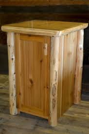 Kitchen Cabinet Garbage Can Tips Wooden Trash Can Trash Can Cabinet Roll Out Trash Can