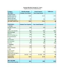 Budgeting Spreadsheet Free 4 Free Simple Personal Monthly Budget Templates A Step Up Budget