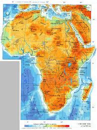 Страны Африки Карта Африки