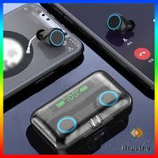 Tai Nghe Bluetooth Không Dây Tws 5.0 Jtke F9 Chống Nước Ipx7 Cho Vivo  Huawei Xiaomi Iphone Oppo chính hãng
