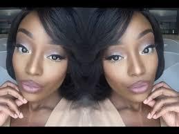 glam makeup tutorial for dark skin