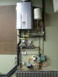 Heat Pump Gas Water Heater Using A Tankless Water Heater For Space Heat