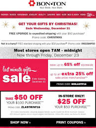 Bonton Need It By Christmas FREE Expedited Shipping W 50 Online Gifts By Christmas