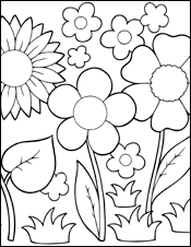 Small Picture april showers bring may flowers coloring page 100 images free