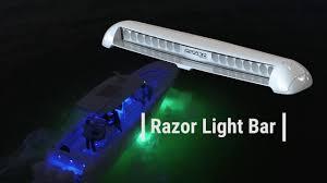 Razor Led Light Bar Lumitec Produce Range Video