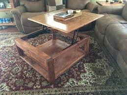 do it yourself lift top coffee table plans to build a full size
