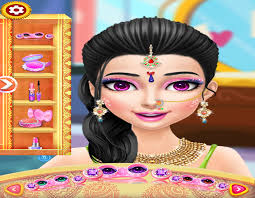 indian wedding bride dressup and makeup for android free