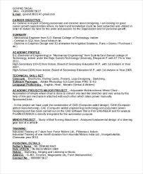 13 Simple Fresher Resume Templates Pdf Doc Free